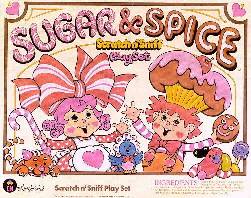 Sugar And Spice By Colorforms